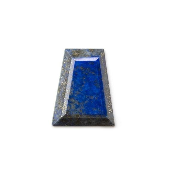 Lapis Lazuli Faceted Top 24.5x19.5mm Trapezoid Cabochon
