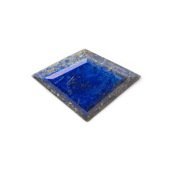 Lapis Lazuli Faceted Top  33.5x22.5mm Cabochon