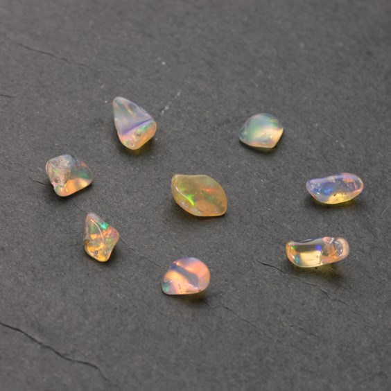 Natural Ethiopian Opal Nuggets (Undrilled)