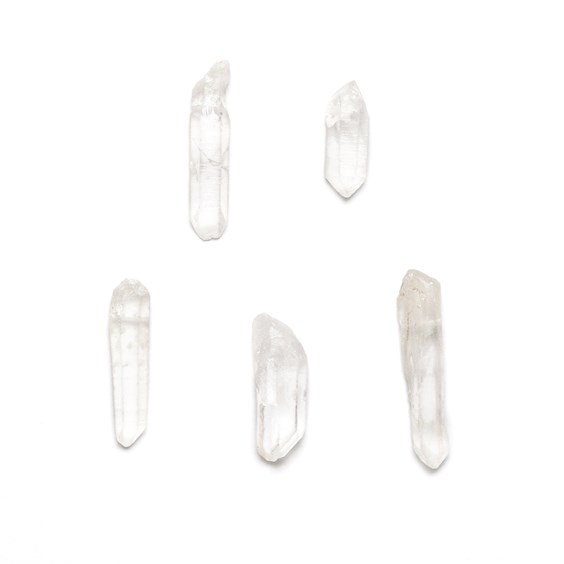 Crystal Quartz Drilled Points