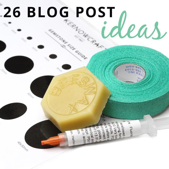 26 blog post ideas