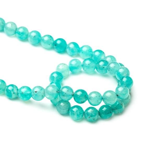 Amazonite Round Beads, 8mm