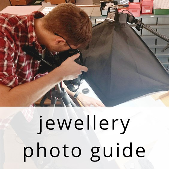 how to photograph your jewellery