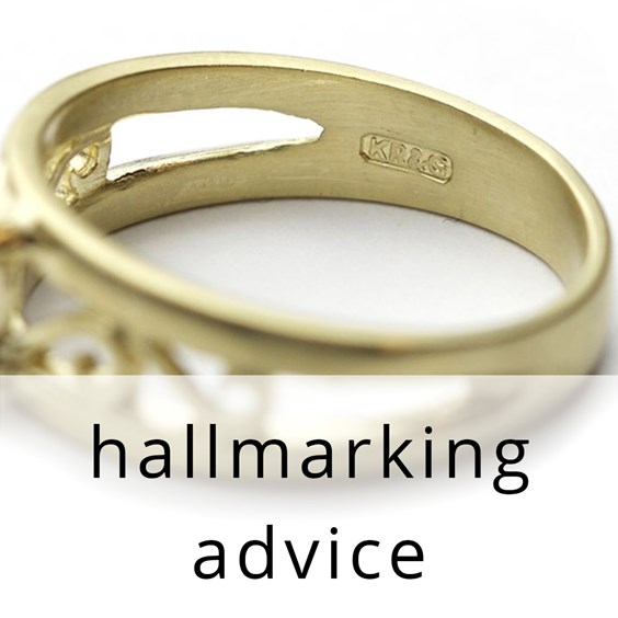 Kernowcraft hallmark stamp on ring