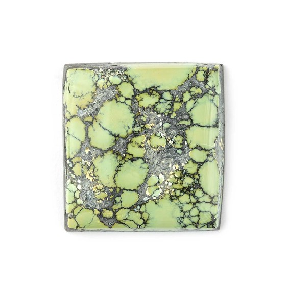 New Lander Turquoise 21.5mm Square Cabochon