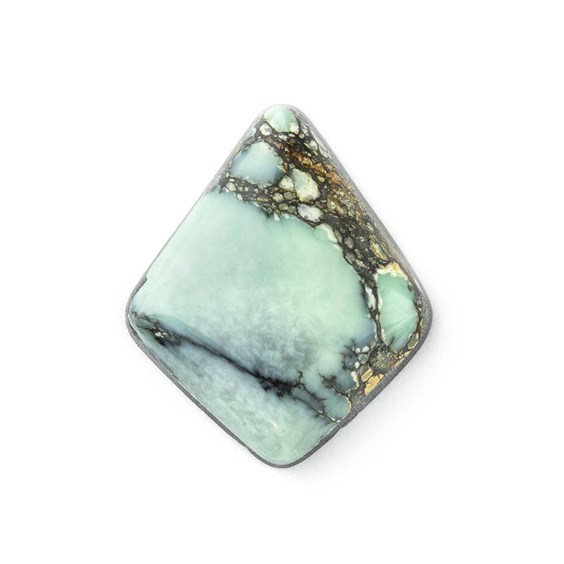 New Lander Turquoise 20x17mm Diamond Shape Cabochon