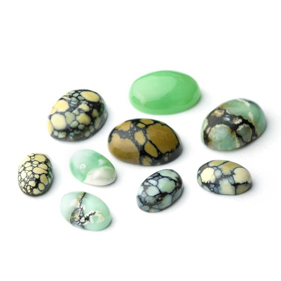 New Lander Turquoise Cabochons