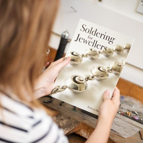 soldering for jewellers rebecca skeels