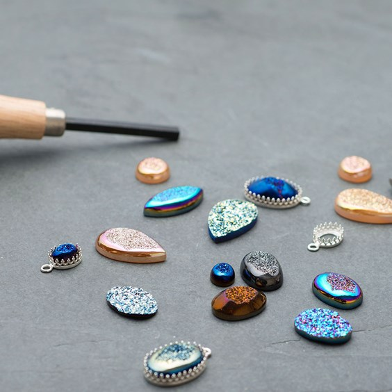 drusy cabochons