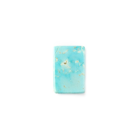 Untreated Natural Persian Turquoise Rectangular Cabochon, Approx 17x11.5mm