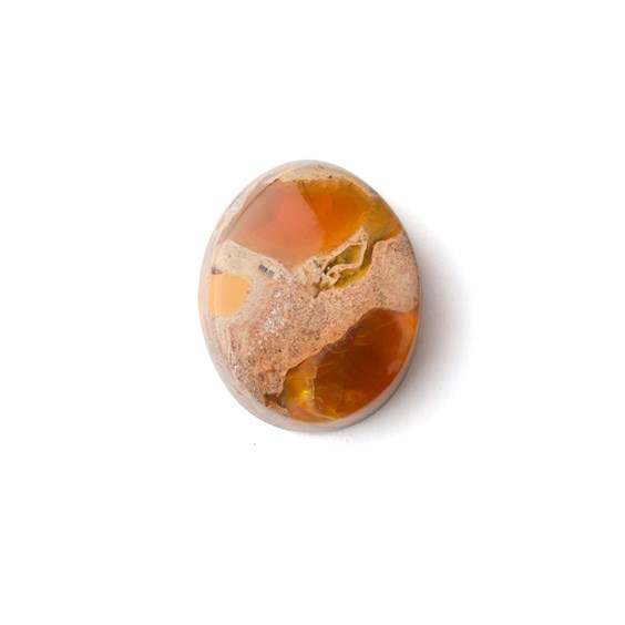 Mexican Fire Opal Cabochon