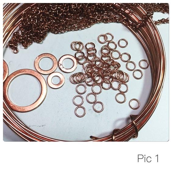 washer bracelet tutorial