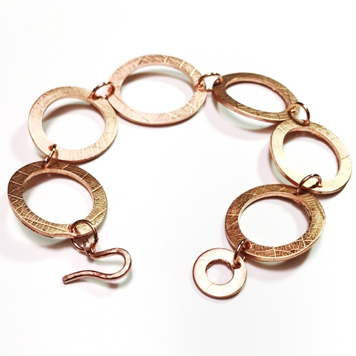 washer bracelet tutorial