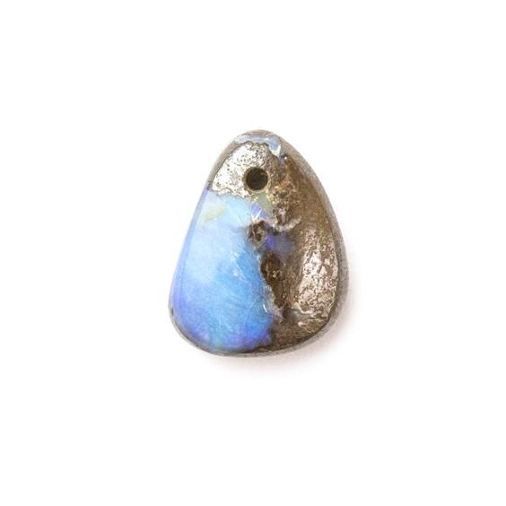 Australian Boulder Opal Approx 11x9mm Head Drilled Focal Pendant