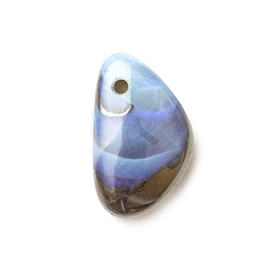 Australian Boulder Opal Approx 14x8.5mm Head Drilled Focal Pendant