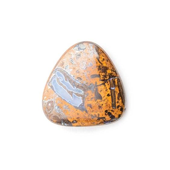 Australian Boulder Opal Approx 16.5mm Top Drilled Focal Pendant
