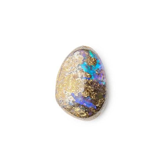 Australian Boulder Opal Approx 12.5x9mm Top Drilled Focal Pendant