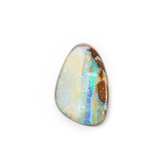 Australian Boulder Opal Approx 12.5x8.5mm Top Drilled Focal Pendant