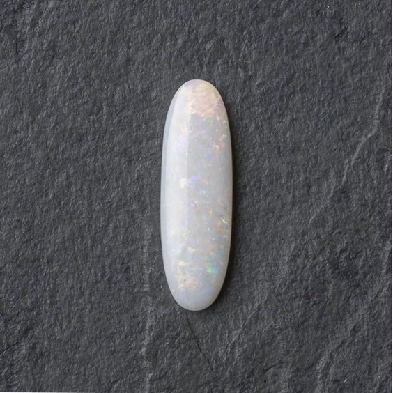 Solid Opal Oval Cabochon, Approx 20.5x6.5mm