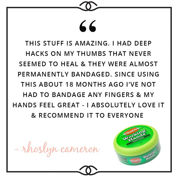 working hands hand cream review