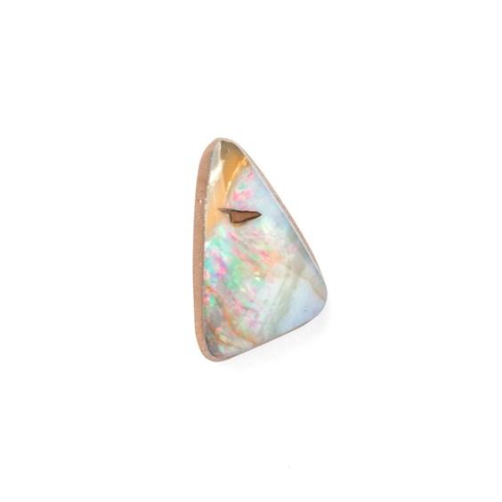 Australian Free Form Boulder Opal, Approx 13.5x8.5mm