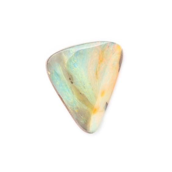 Australian Free Form Boulder Opal, Approx 16.5x14.5mm