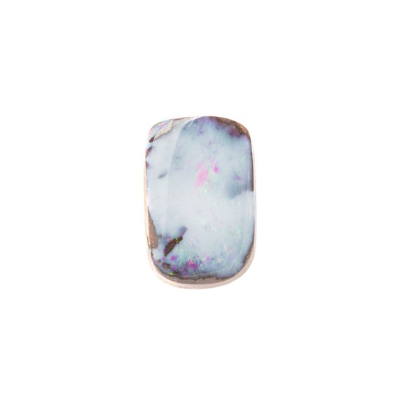 Australian Free Form Boulder Opal, Approx 17.5x11.5mm