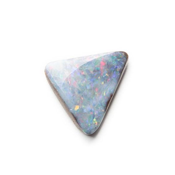 Australian Free Form Boulder Opal, Approx 15x13.5mm