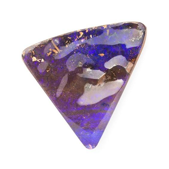 australian boulder opal ultra violet
