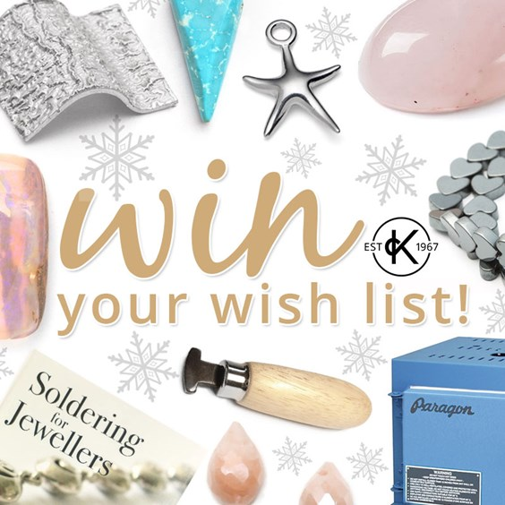 win your jewellery supplies christmas wishlist