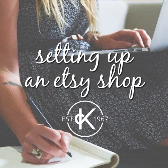 how to set up an etsy shop for jewellery business