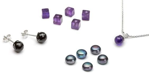 half drilled beads