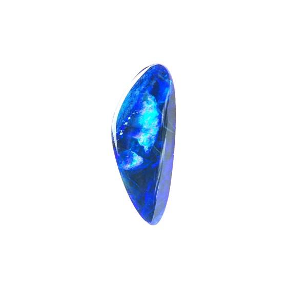 Australian Free-Form Opal Doublet, Approx 13x5mm