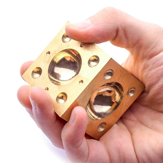 Brass Doming Block