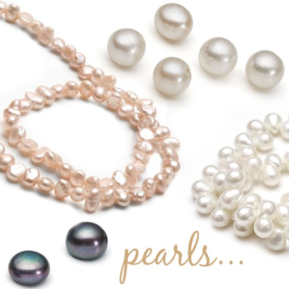 pearls wedding jewellery