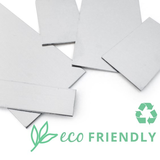 Eco-Friendly Recycled Sterling Silver Sheet