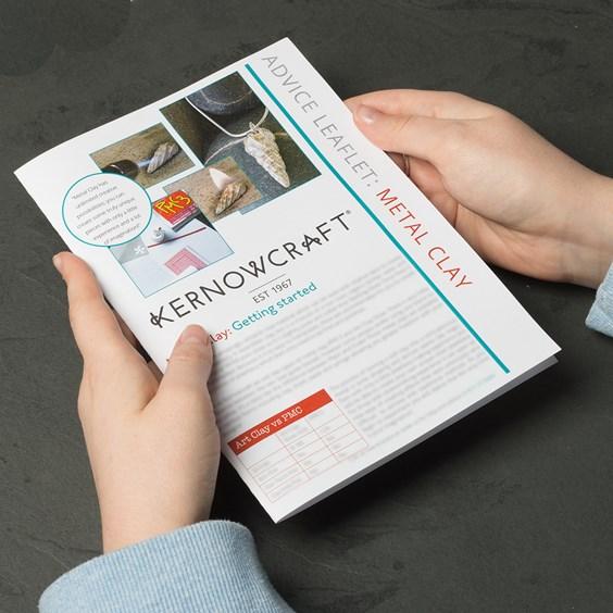 Metal Clay Leaflet - Kernowcraft