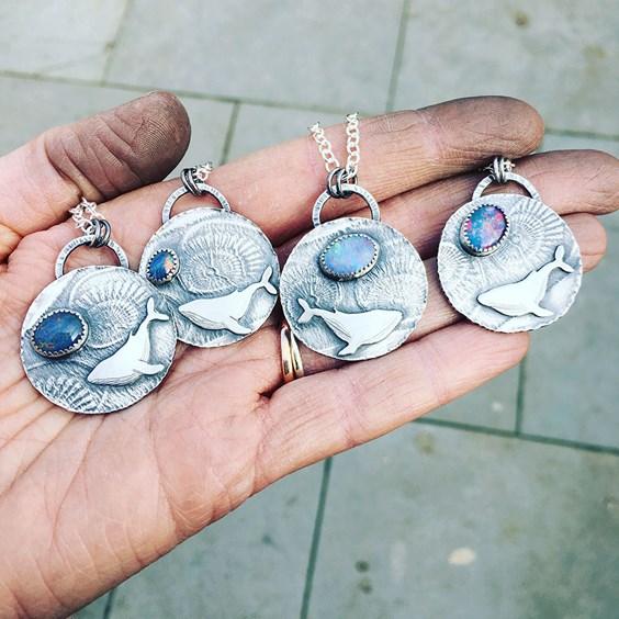opal pendants