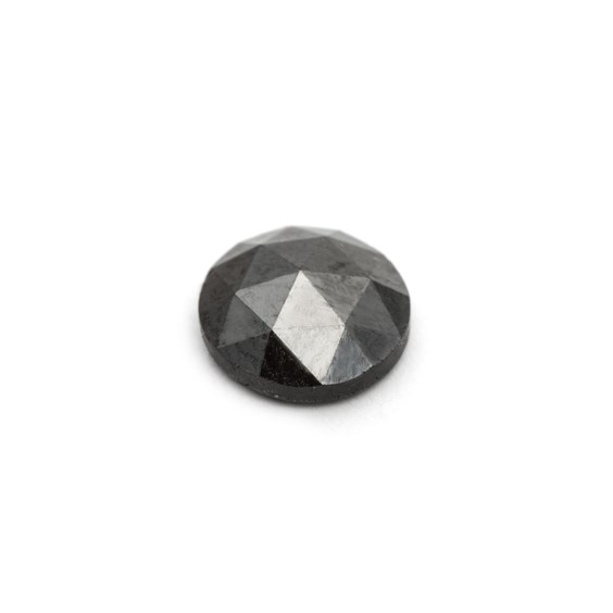 Black Diamond Rose Cut Cabochon
