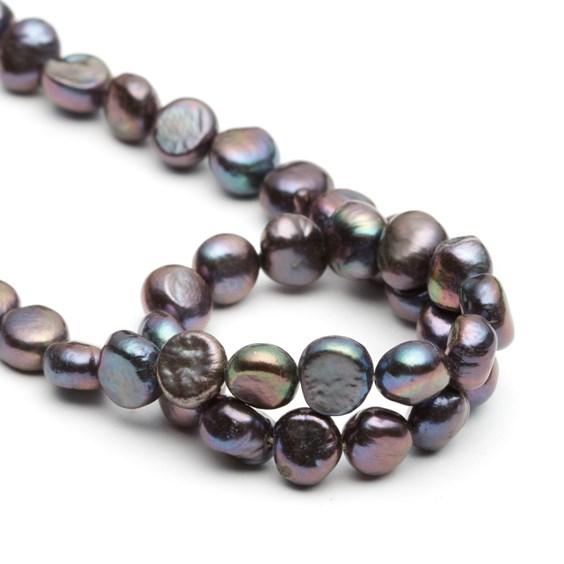 Cultured Freshwater Peacock Semi-Baroque Pearls