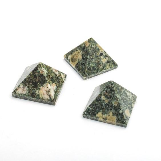 Preseli Bluestone Carved Pyramid