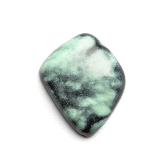 New Lander Turquoise Cabochon, Approx 15x13mm