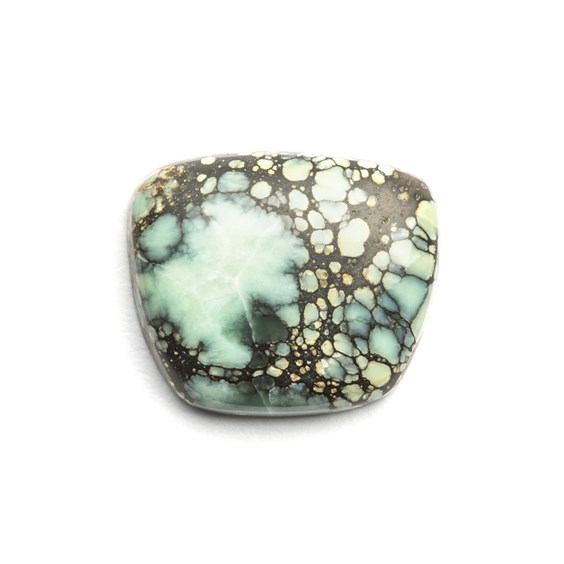 New Lander Turquoise Cabochon, Approx 12.5x10.5mm