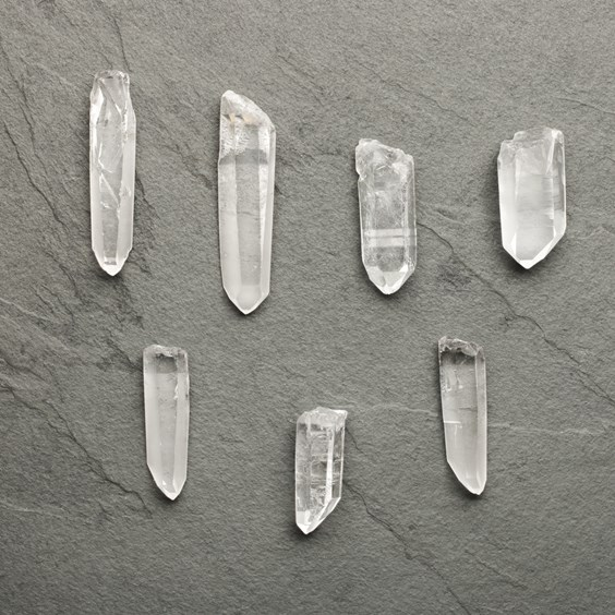 Natural Crystal Quartz Points (Undrilled)