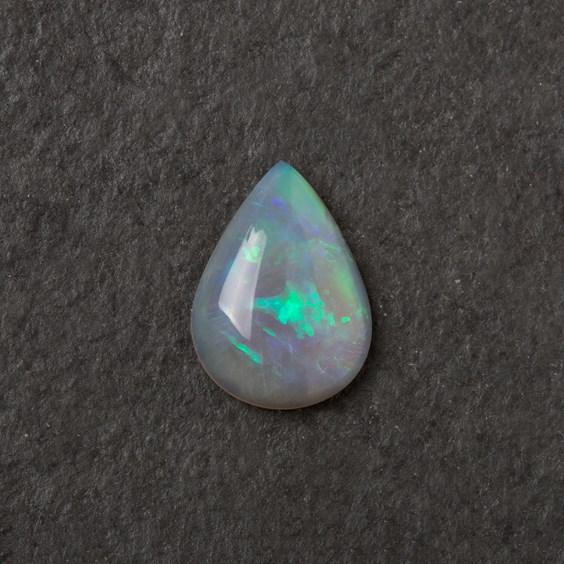 Solid Opal Teardrop Cabochon, Approx 11.5x8mm
