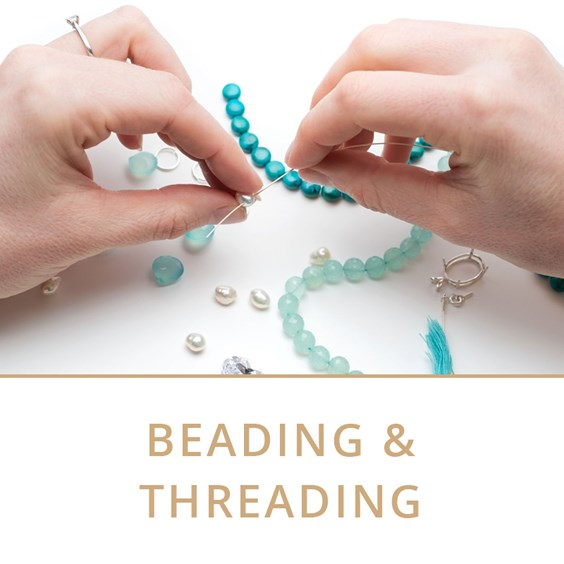 beading and threading jewellery making tutorials