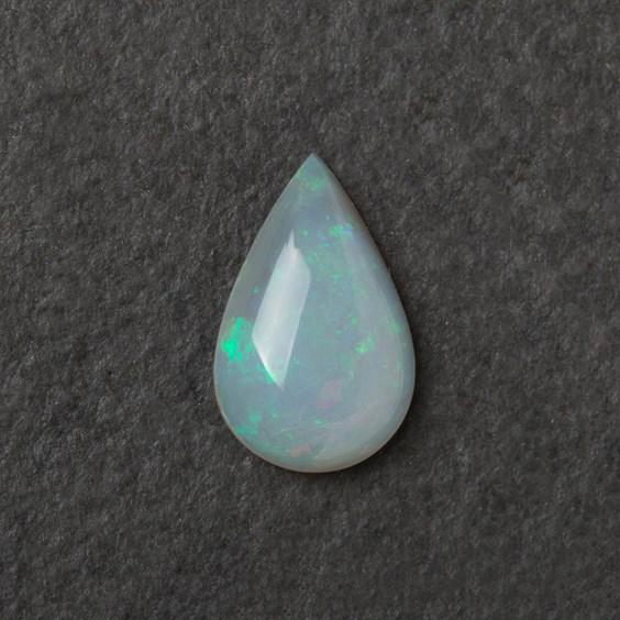 Solid Opal Teardrop Cabochon