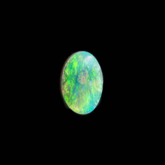 Solid Opal Oval Cabochon, Approx 6x4mm