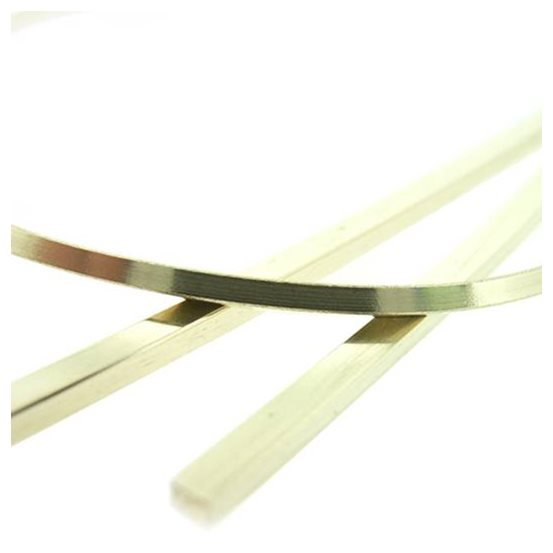 9ct Gold Square Wire
