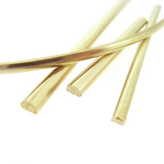 Dshaped wire for jewellery making